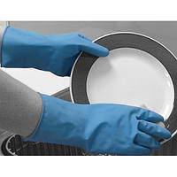 Перчатки химстойкие из природного каучука (пара) Matrix Household POL 150-MAT размер S