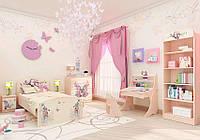 """Детская комната для девочки """"Бабочки"""""""