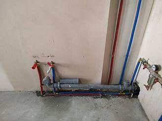 Разодка воды в квартире Ирпень. 4