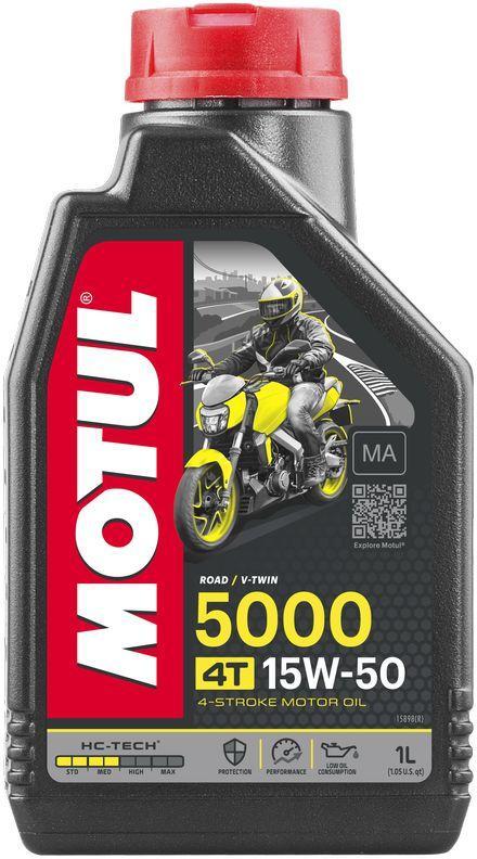 Масло MOTUL 5000 4T 15W-50  1л (106012)