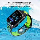Смарт часы Smart Watch ZGPAX S-226 Fitness Красный (SWF1565660X5FR6G), фото 3