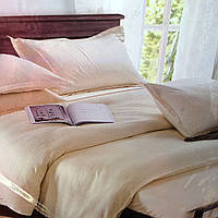 """""""Шампань"""" Комплект постельного белья Lux евро размер 200*220,ткань страйп-сатин"""