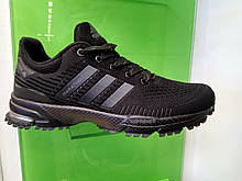 Мужские кроссовки в стиле Adidas Marathon TR Black