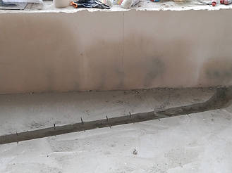 Разодка воды в квартире Ирпень. 3