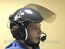 Шлем авиационный с гарнитурой блютус