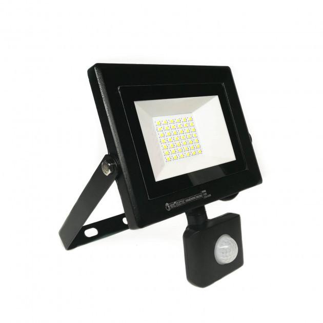 Прожектор світлодіодний Horoz Electric Pars/S-30 з датчиком руху 30W 6400K ІР65 2400Lm (068-009-0030)