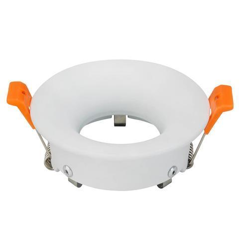 Светильник встраиваемый Horoz Electric Karanfil-R MR16/JCDR круг белый (015-022-0050)