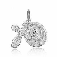 Серебряный крест MAZZARINI JEWELRY с ладанкой  КОД: П2/188