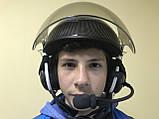 Шлем авиационный с гарнитурой, фото 2