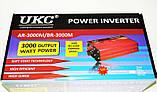 Преобразователь UKC 3000W 12V авто инвертор AC/DC, фото 5