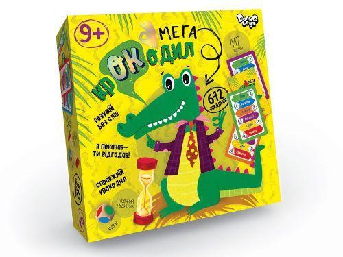 Настольная игра викторина Мега-крокодил укр CROC-03-01U