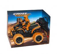 Квадроцикл на радиоуправлении Toysi Cross Country Оранжевый КОД: TOY-43331