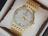 Мужские (Женские) кварцевые наручные часы Romanson на металлическом ремешке