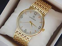 Мужские (Женские) кварцевые наручные часы Romanson на металлическом ремешке, фото 1