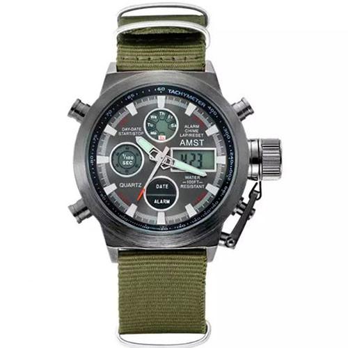 Часы наручные AMST AM3003-3 Military/Black (KD-06239S378)