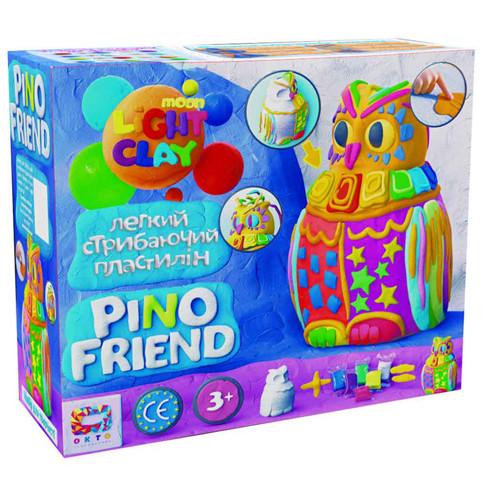 Набір легкого стрибаючого пластиліну ОКТО Moon Light Clay Pino Friend Пуффі (70034)
