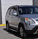 Пороги боковые (подножки профильные) Honda CR-V 2001-2006, фото 2