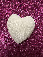 """Пенопластовая фигура """"Сердце"""", 6 см"""