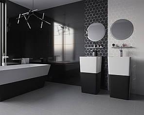 Декор Paradyz Grace Nero Inserto A 29,5x59,5, фото 2