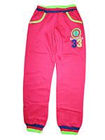 Утеплённые спортивные брюки для девочек, размер 134, арт. G 6106