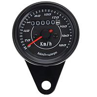 Спідометр виносної універсальний 180км/ч (чорний) (одометр ) для мото техніки, мото приборка, М22,