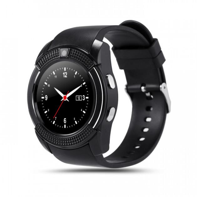 Смарт-часы Smart Watch V8 Original Black (hub_OdSA22159)