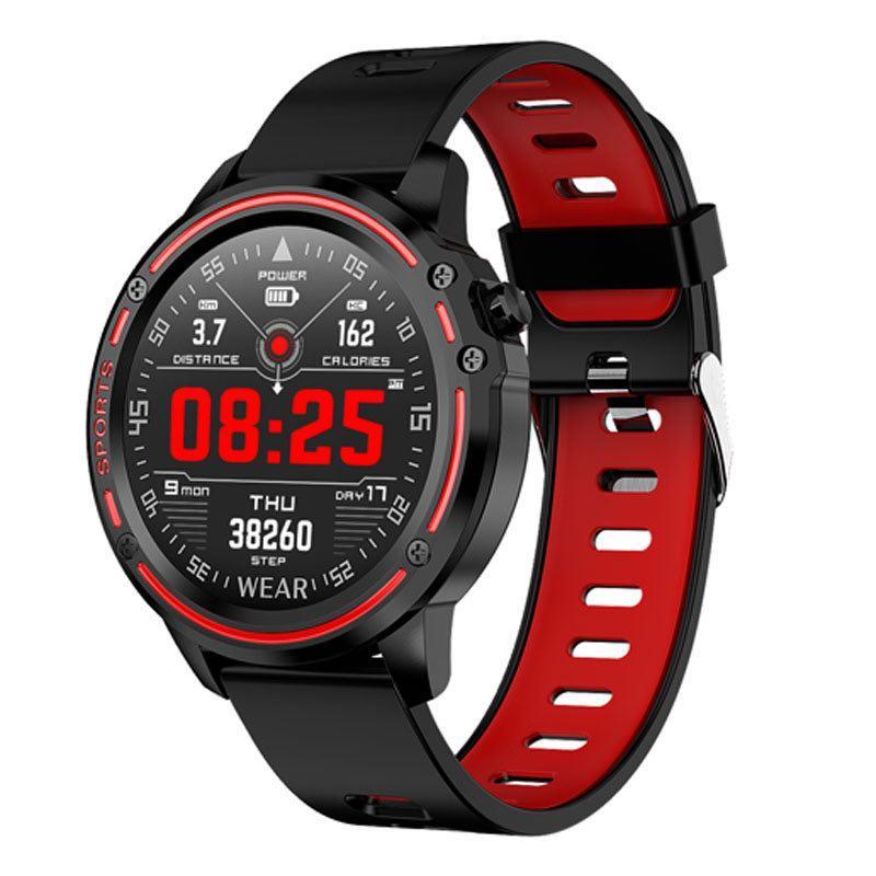 Умные часы-браслет Smart watch band bracelet L8s Red (SB0001L8R)