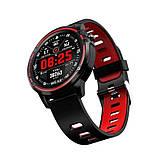 Умные часы-браслет Smart watch band bracelet L8s Red (SB0001L8R), фото 4