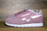 Кроссовки в стиле Reebok Classic Pink женские