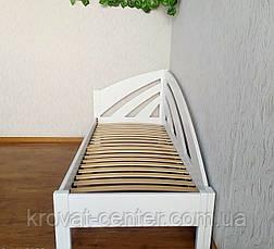 """Детская кровать из массива дерева """"Радуга"""" (90х200) белая, фото 3"""