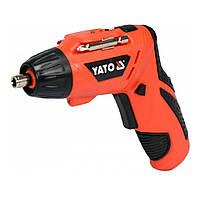 Электро(Отвертка)Аккумуляторная 3,6 В(YATO)YT-82760