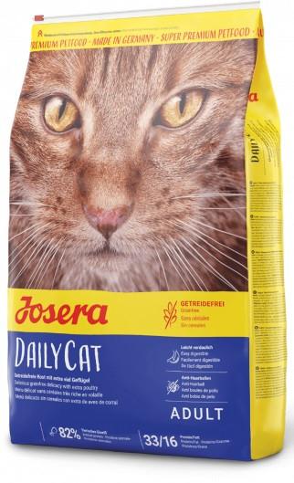 Сухой беззерновой корм Josera DailyCat для кошек с птицей 2 кг