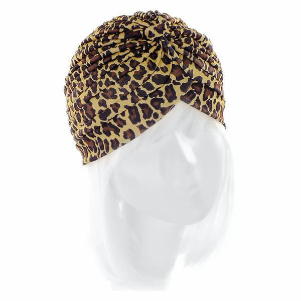 Чалма Knit леопард