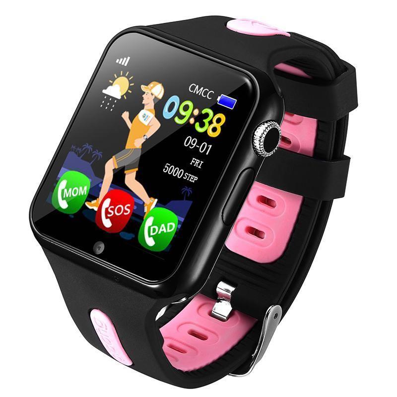 Детские умные GPS часы Aladeng V5k Pink (SBWV5KP)