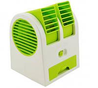 Мини-кондиционер Mini Fan Air Cooler USB Electric Зеленый (V2080)