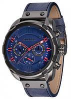 Мужские наручные часы Guardo P11179 GrBlBl Серый