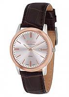 Мужские наручные часы Guardo S00547 RgsWBr Розовое золото