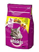 Сухой корм с Курицей для взрослых кошек 950 г Whiskas Вискас