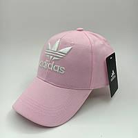 Бейсболка Adidas 56-58 Розовая (0000120)