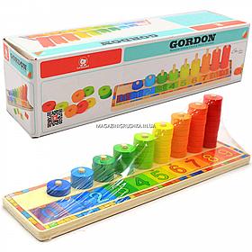 Деревянная игрушка Top Bright, развивающая учимся считать (6540)