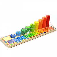 Деревянная игрушка Top Bright, развивающая учимся считать (6540), фото 4