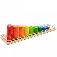 Деревянная игрушка Top Bright, развивающая учимся считать (6540), фото 5