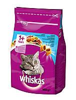 Сухой корм с Тунцом для взрослых кошек 950 г Whiskas Вискас