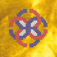 Схема на ткани для вышивания бисером Славянский оберег.Свадебник КМР 6108