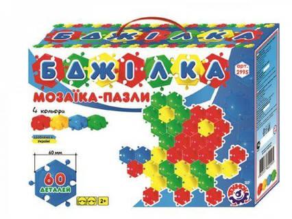 "Мозаика пазлы ""Пчёлка Технок"" (60 дет) 2995"