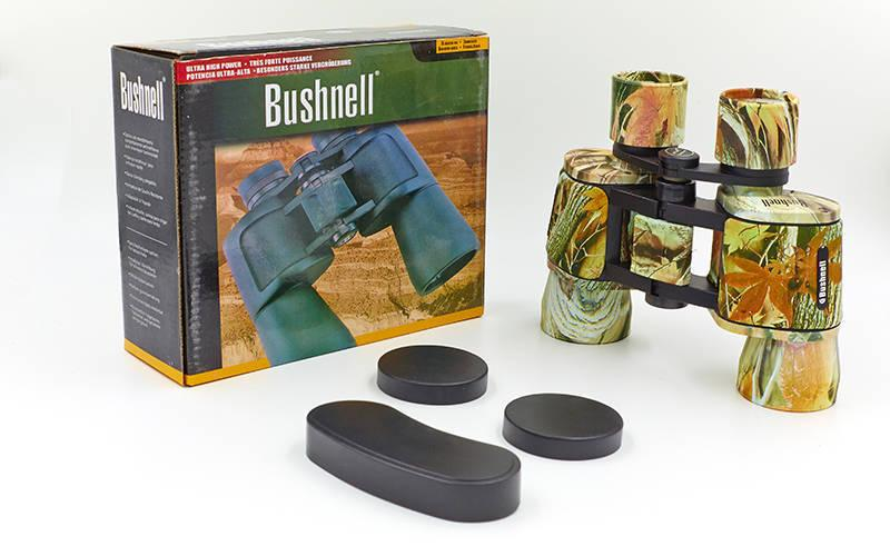 Бинокль BUSHNELL 8х40 TY-1506 (пластик, стекло, PVC-чехол, защитный цвет лес)