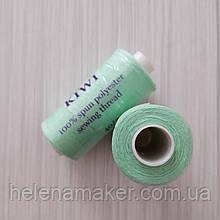 Мятные нитки швейные, маленькая катушка 400 ярдов (365 метров)