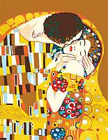 """Картина по номерам.""""Поцелуй"""" (худ. Густав Климт) 35х45см ROSA START Бесплатная Доставка"""