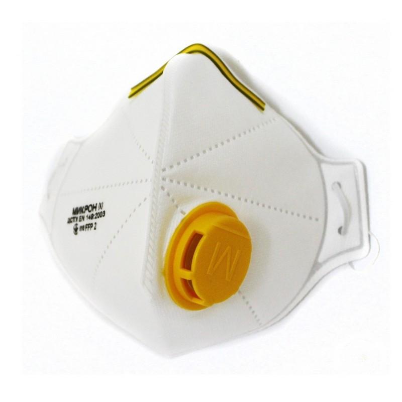 Защитная противовирусная маска-респиратор МИКРОН К FFP2 (106264)