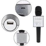 Беспроводной караоке микрофон Q9, фото 7